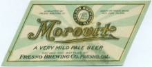 Morovit Beer Label