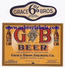 Beer Label GB Beer