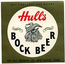 Hull's Bock Beer Label