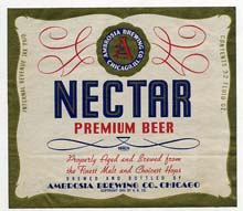 Nectar Premium Beer Label
