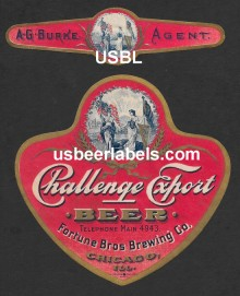 Challenge Export Beer Label