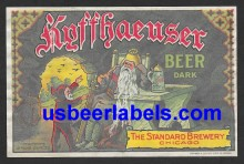 Kyffhaeuser Dark Beer Beer Label