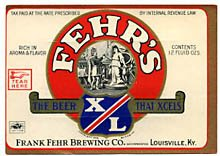 Fehrs XL Beer Label