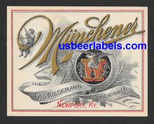 Munchener Beer Label