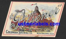 Pilsener Beer Label