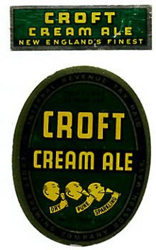 Croft Cream Ale Beer Label