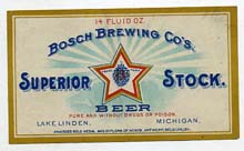 Superior Stock Beer Label