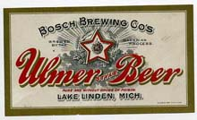 Ulmer Style Beer Label