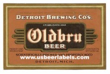 Oldbru Beer Label