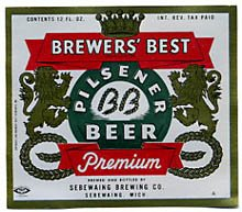 Brewer's Best Pilsener Beer Label