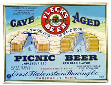 Cave Aged Picnic Beer Label