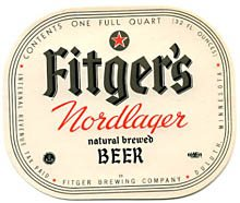Fitger's Nordlager Beer Label