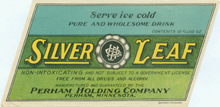 Silver Leaf Beer Label