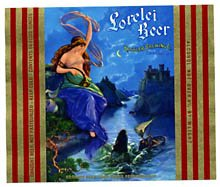 Lorelei Beer Label