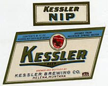 Kessler Beer Label