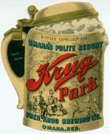 Krug Park Beer Label