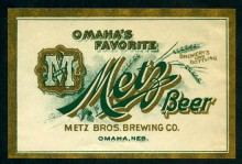 Metz Beer Label