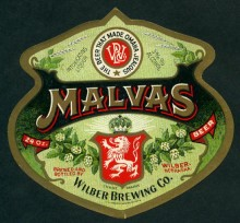 Malvas Beer Label