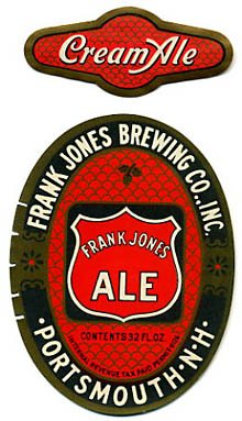 Frank Jones Ale Beer Label
