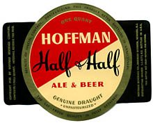 Hoffman Half & Half Beer Label