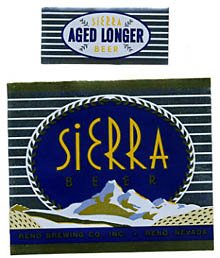 Sierra Beer Label