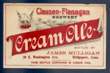 Cream Ale Beer Label