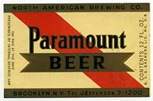 Paramount Beer Label
