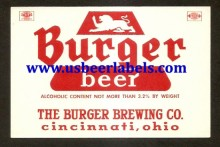 Burger Beer Beer Label