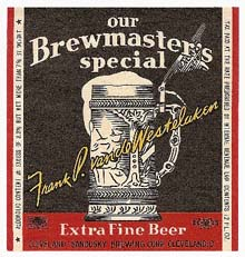 Brewmasters Special Beer Label