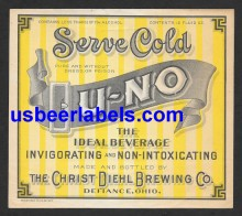 U-NO Beer Label