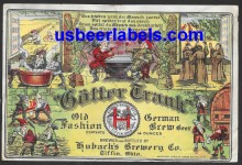 Gotter Trank Beer Label