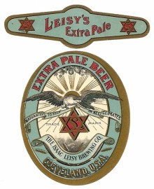 Leisys Extra Pale Beer Label