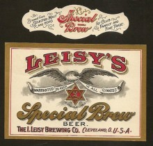 Leisys Special Brew Beer Label