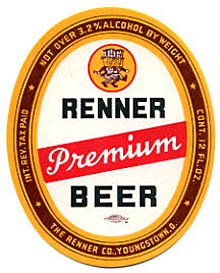 Renner Premium Beer Label