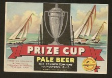 Prize Cup Pale Beer Label