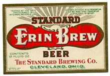 Erin Brew Standard Beer Label