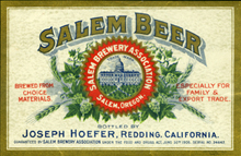 Salem Beer Label