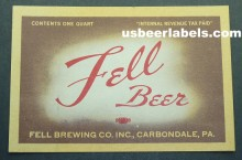 Fell Beer Label