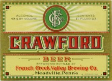 Crawford Beer Label