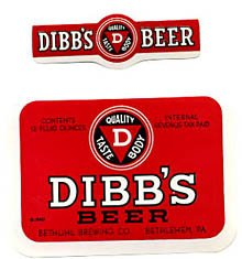 Dibb's Beer Label