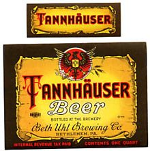 Tannhauser Beer Label