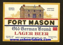 Fort Mason Beer Label