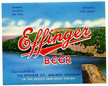 Effinger Beer Label