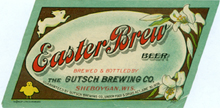 Easter Brew Beer Label