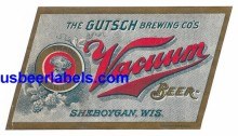 Vacuum Beer Beer Label