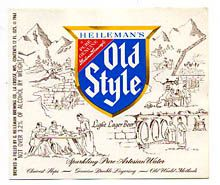 Heilemans Golden Leaf Beer Label