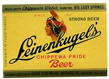 Leinenkugel's Chippewa Pride Beer Label