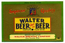 Walter Beer Label