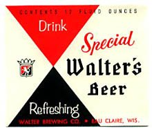 Walter's Special Beer Label