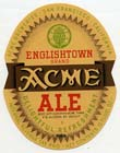 Acme Englishtown Ale Beer Label